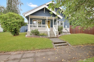 Tacoma Single Family Home For Sale: 4008 S L St