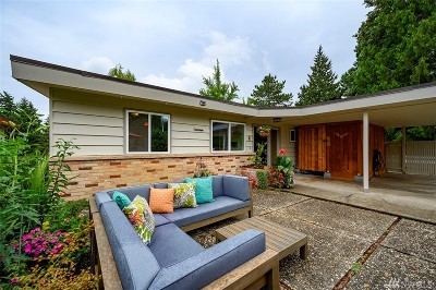Seattle Single Family Home For Sale: 6110 NE 60th St