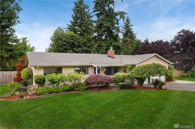 Kirkland Single Family Home For Sale: 13223 86th Place NE