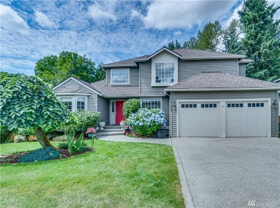 Sammamish Single Family Home For Sale: 4553 244th Place SE