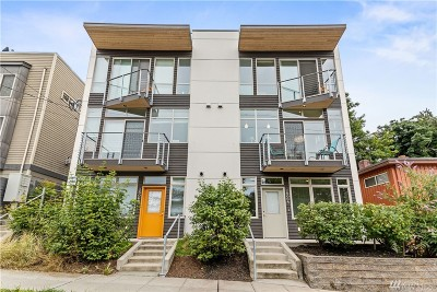 Seattle Single Family Home For Sale: 2806 14th Ave W #A