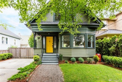 Seattle Single Family Home For Sale: 822 24th Ave