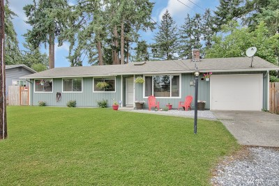 Spanaway Single Family Home For Sale: 17112 17th Ave E