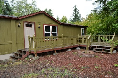 Mason County Single Family Home For Sale: 180 NE Snowcap Dr