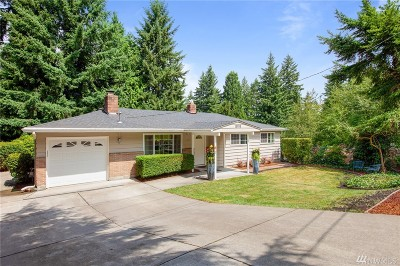 Bellevue Single Family Home For Sale: 15016 SE 45th St