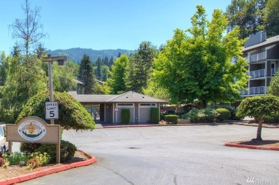 Issaquah Condo/Townhouse For Sale: 210 Mountain Park Blvd SW #F103
