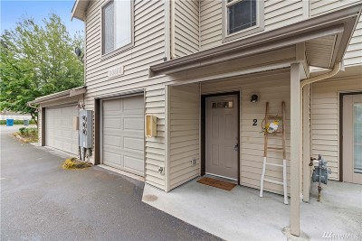 Edmonds Condo/Townhouse For Sale: 20808 72nd Ave W #2