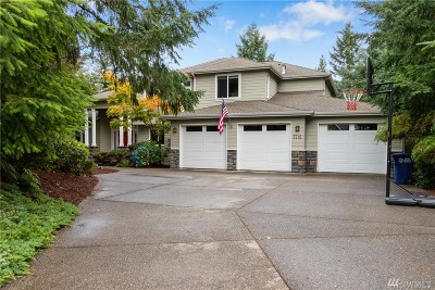 Gig Harbor Single Family Home For Sale: 7712 31st St NW