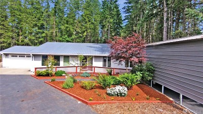 Mason County Single Family Home For Sale: 521 N Kokanee Ridge Dr