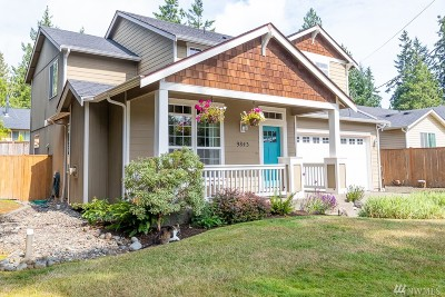 Olympia Single Family Home For Sale: 9843 Overlook Dr NW