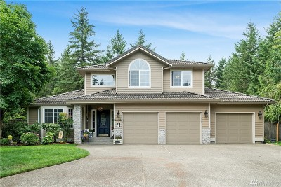 Thurston County Single Family Home For Sale: 5143 Blacktail Ct NE