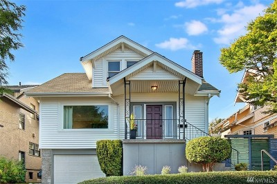 Seattle Single Family Home For Sale: 208 N 41st St