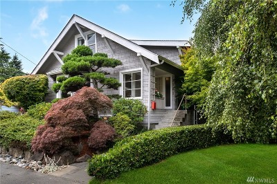 Seattle Single Family Home For Sale: 3702 SW Cloverdale St