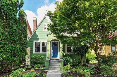 Seattle Single Family Home For Sale: 6015 28th Ave NE