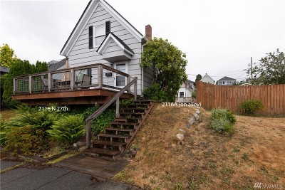 Tacoma Single Family Home For Sale: 2116 N 27th St