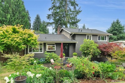 Bellevue Single Family Home For Sale: 3811 139th Place SE