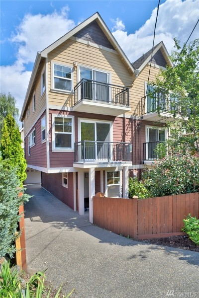 Seattle Single Family Home For Sale: 4182 SW Orchard St