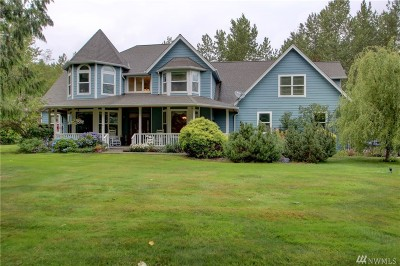 Skagit County Single Family Home For Sale: 15073 Hawk Lane