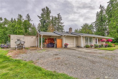 Yelm Single Family Home For Sale: 15040 Martinson Rd SE