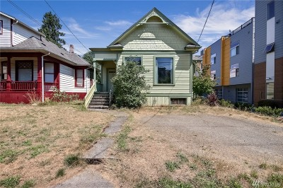 Seattle Single Family Home For Sale: 1414 20th Ave