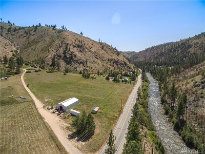 Chelan County, Douglas County Single Family Home For Sale: 11320 Entiat River Rd