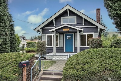 Tacoma Single Family Home For Sale: 719 S 59th St