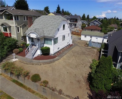 Seattle Single Family Home For Sale: 346 N 77th St