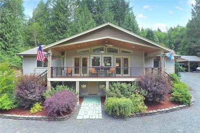 Snohomish Single Family Home For Sale: 17933 Ok Mill Rd