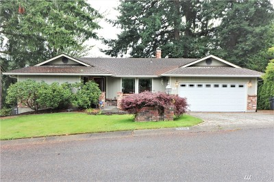 Olympia Single Family Home For Sale: 3715 Goldcrest Hts NW