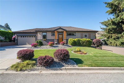 Chelan County Single Family Home For Sale: 102 Mission View Place