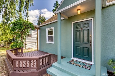 Seattle Single Family Home For Sale: 8738 18th Ave NW