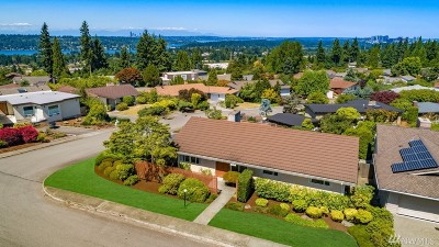 Bellevue Single Family Home For Sale: 13400 SE 43rd St