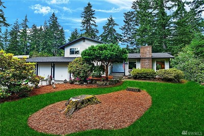 Bothell Single Family Home For Sale: 17606 5th Ave W