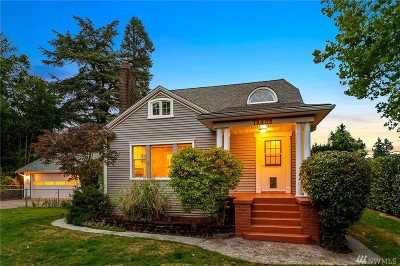 King County Single Family Home For Sale: 13402 Corliss Ave N