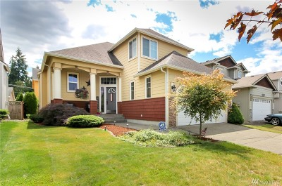 Puyallup Single Family Home For Sale: 9316 190th St E