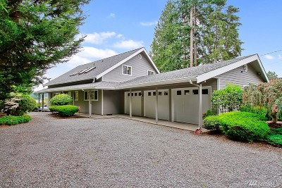 Pierce County Single Family Home For Sale: 5415 W Tapps Dr E