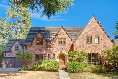 Seattle Single Family Home For Sale: 440 McGilvra Blvd E