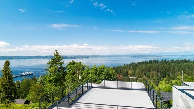Seattle Single Family Home For Sale: 8260 Northrop Place SW