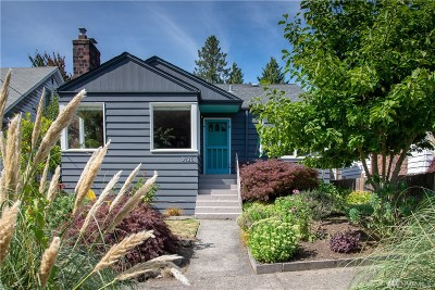 Seattle Single Family Home For Sale: 3426 NW 62nd St