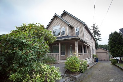 Seattle Single Family Home For Sale: 4514 36th Ave W
