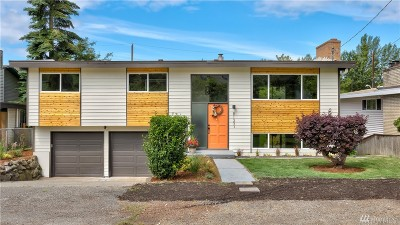 Seattle Single Family Home For Sale: 8133 22nd Ave SW