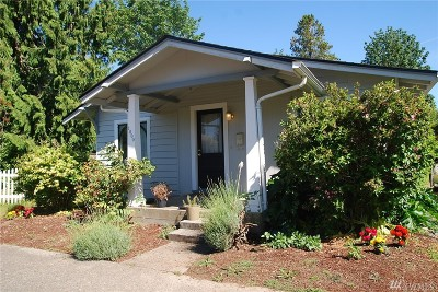 Olympia Single Family Home For Sale: 1800 Bigelow Ave NE