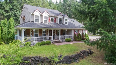 Shelton Single Family Home For Sale: 400 E Hiawatha Blvd