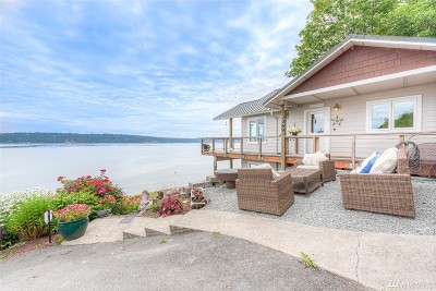 Camano Island Single Family Home For Sale: 3369 Shoreline Dr