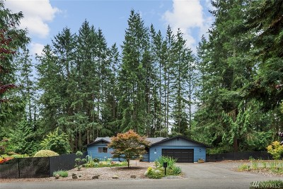 Pierce County Single Family Home For Sale: 3714 122nd St Ct NW