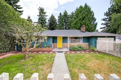 Seattle Single Family Home For Sale: 9826 13th Ave SW