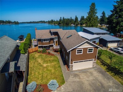 Bonney Lake Single Family Home For Sale: 7320 W Tapps Hwy E
