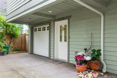 Seattle Single Family Home For Sale: 1409 NW 60th St #B