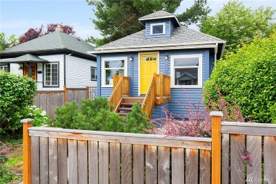 Seattle Single Family Home For Sale: 3952 S Orcas St