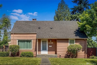 Seattle Single Family Home For Sale: 11433 70th Place S